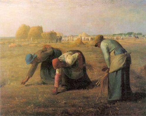 des glaneuses, 1857