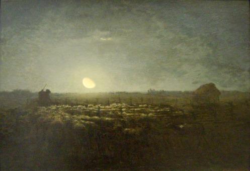 le parc à moutons, 1872